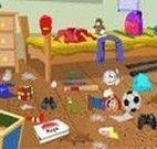 Limpeza do quarto