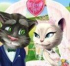 Vestir Angela e Tom noivos