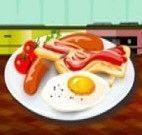 Preparar ovos com bacon
