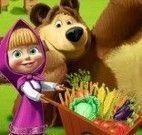 Masha e Bear na fazenda