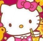 Quebra cabeça menina Hello Kitty