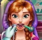 Anna cuidar dos dentes