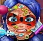 Ladybug cuidar do rosto