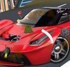 Lavar carro de corrida