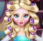 Cuidar dos cabelos da Elsa