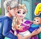Elsa e gêmeos