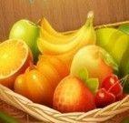 Frutas e verduras trincas