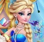 Elsa maquiagem