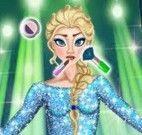 Elsa maquiagem de festa