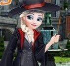 Bruxinha Elsa vestir