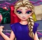 Princesa Elsa roupas novas