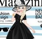 Revista capa modelo fashion