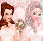 Princesas noivas vestidos