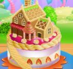 Decorar bolo casa