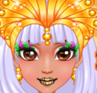 Princesas do Egito moda e maquiagem