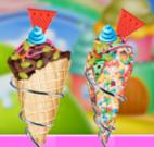 Fazer sorvete criativos