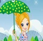 Polly Pocket na chuva