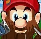 Mario Bross fazer barba