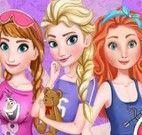 Elsa e amigas festa do pijama