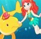 Vestir a menina e o golfinho