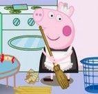 Limpar casa Peppa Pig