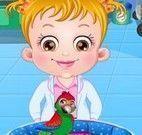 Bebê Hazel veterinária