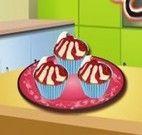 Sara receita de cupcakes de cereja