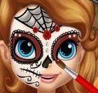 Máscara de Halloween da Princesa Sofia