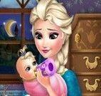 Elsa cuidar do bebê