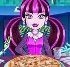 Monster High fazer pizza