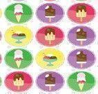 Trincas de sorvete e picolé