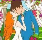 Colorir desenho dos noivos