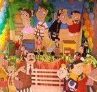 Jogo da festa na vila do Chaves