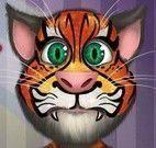 Pintar máscara do gato Tom