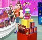 Decorar loja dos doces