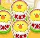 Fazer cupcakes da galinha