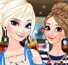 Elsa e Anna no cinema