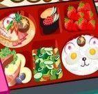 Decorar caixa de sushi