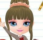 Bebê Barbie na escola