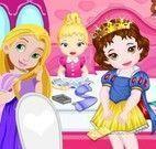 Princesas bebês arrumar quarto
