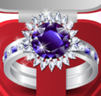 Decorar anel de pedra preciosa