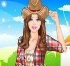 Barbie na fazenda vestir