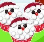 Cupcakes do Papai Noel
