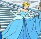 Pintar quadro da Cinderela