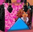 Decorar bolsa Monster High