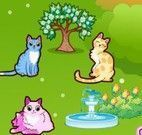 Decorar jardim dos gatos