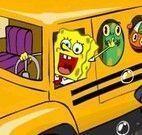 Bob Esponja ônibus escolar