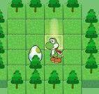 Yoshi aventuras com ovos