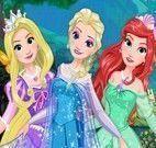 Maquiagem e roupas das princesas