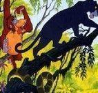 Montar quabra cabeça da selva